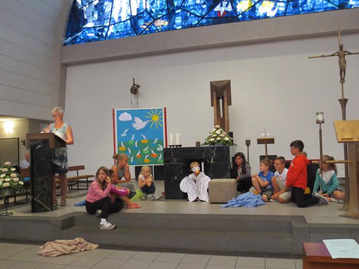 Einschulung 2016 an der Grundschule St. Peter und Paul
