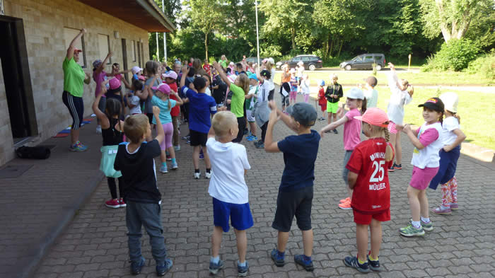 Sportfest an der Grundschule St. Peter und Paul