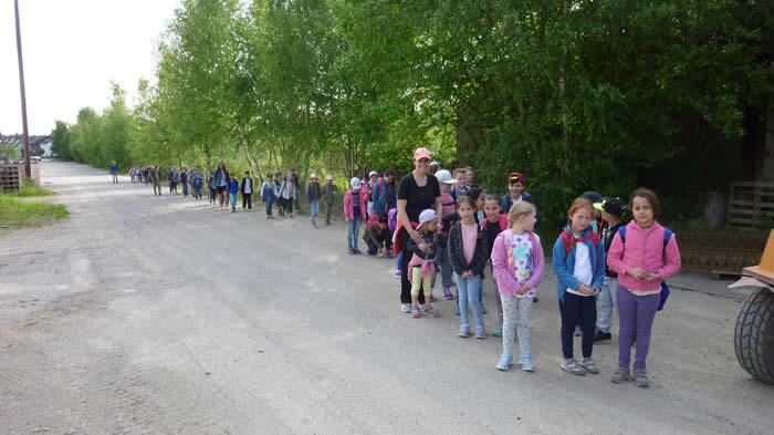 Wandertag an der Grundschule St. Peter und Paul